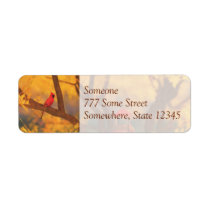 Autumn Guardian Address Labels