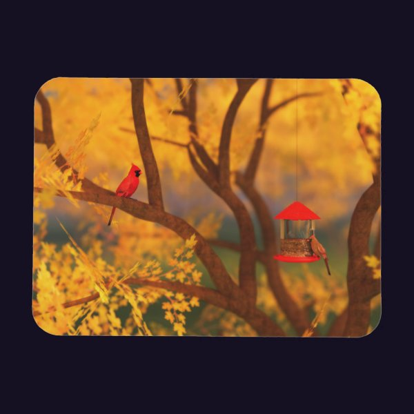 Autumn Guardian Flexible Magnet
