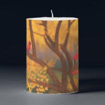 Autumn Guardian Pillar Candle