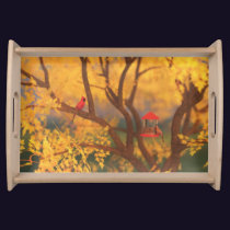 Autumn Guardian Serving Tray