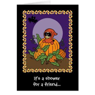 Autumn/Halloween Baby Shower Invitation