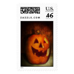 Autumn - Halloween - Jack-o-Lantern Postage Stamp