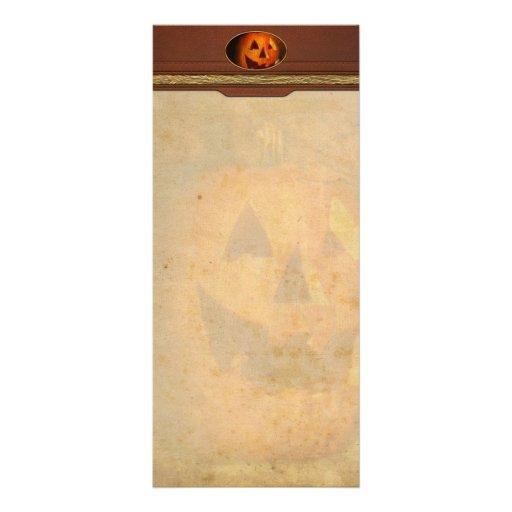 Autumn - Halloween - Jack-o-Lantern Full Color Rack Card