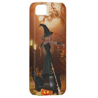 Autumn Halloween Witch iPhone SE/5/5s Case