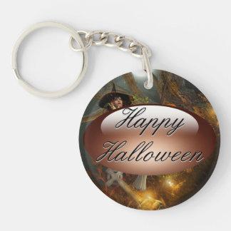 Autumn Hallowe's eve Keychain