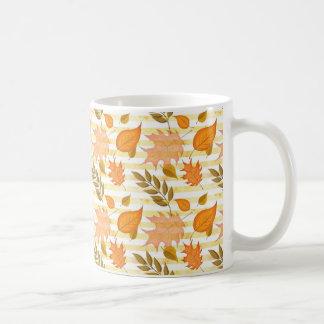 Autumn Hand-Painted Illustration Coffee Mug