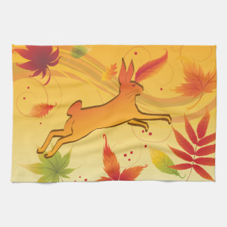 AUTUMN HAND TOWELS