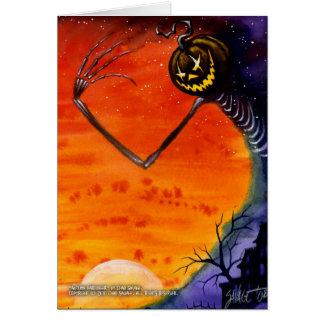 Autumn Harbinger Greeting Card