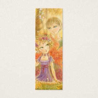 Autumn Harmony Bookmark Mini Business Card