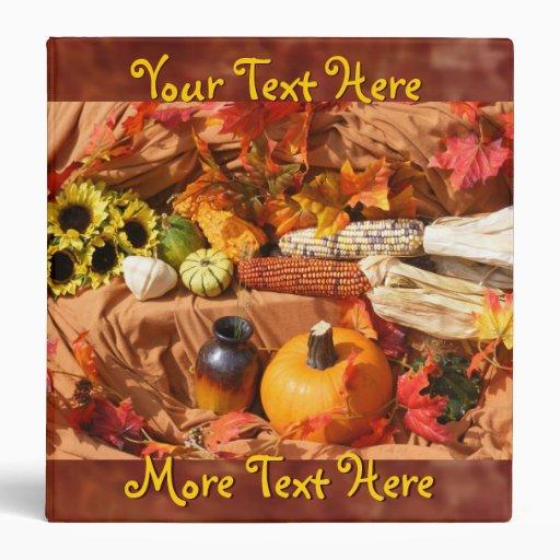 Autumn Harvest Binder