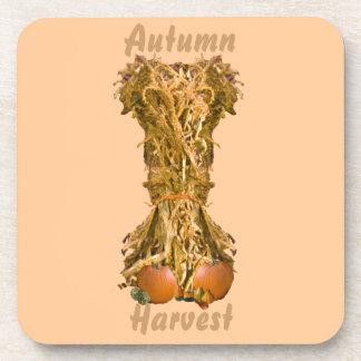 Autumn Harvest Cork Coaster Beverage Coasters