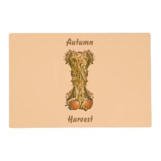 Autumn Harvest Laminated Paper Placemat