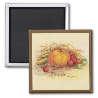 Autumn Harvest magnet