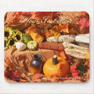 Autumn Harvest Mouse Pad