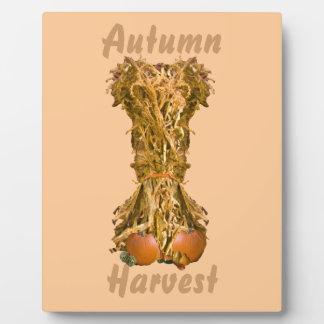 Autumn Harvest Plaque Photo Plaques