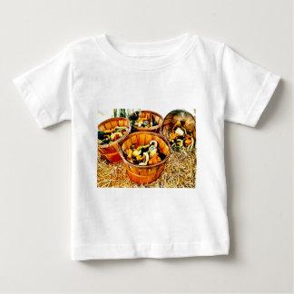 Autumn Harvest Pumpkins & Gourds Thanksgiving Baby T-Shirt