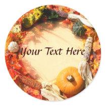 Autumn Harvest Stickers