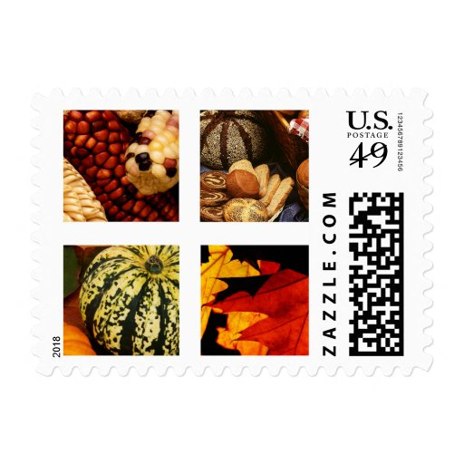 Autumn Harvest Thanksgiving stamps