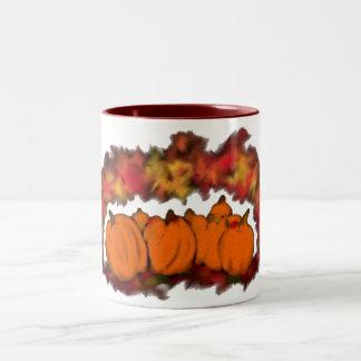 Autumn Harvest Two-Tone Coffee Mug