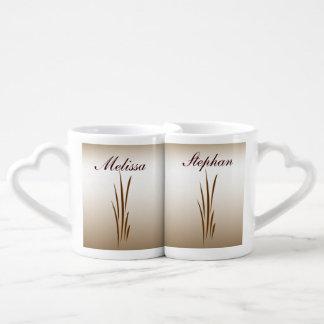 Autumn Harvest Wedding Lovers Mugs