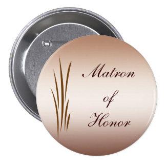 Autumn Harvest Wedding Matron of Honor Pin