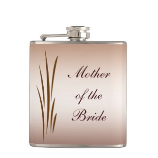 Autumn Harvest Wedding Mother of the Bride Hip Flask
