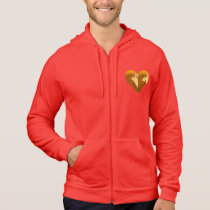 autumn heart hoodie