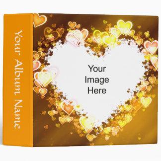 Autumn Heart Template Wedding Binder