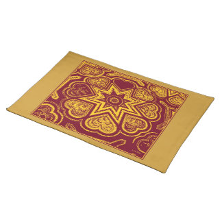 'Autumn Hearts' Placemat Cloth Placemat