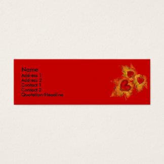 Autumn Hearts Profile Cards