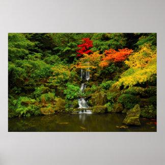 Autumn, Heavenly Falls Poster