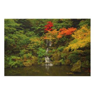 Autumn, Heavenly Falls Wood Wall Art