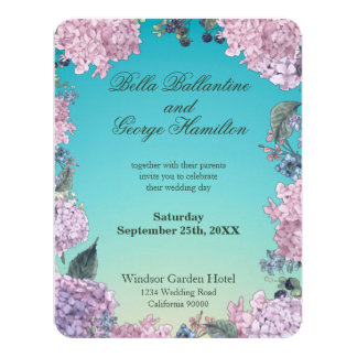 Autumn Hedgerow | Wedding Invitation