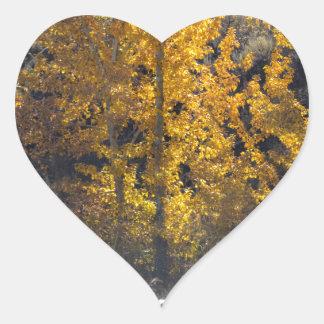 Autumn Herding Heart Sticker