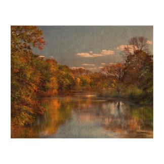 Autumn - Hillsborough NJ - Painted by nature Cork Paper Prints