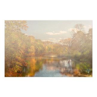 Autumn - Hillsborough NJ - Painted by nature Stationery