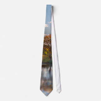 Autumn - Hillsborough NJ - Painted by nature Tie