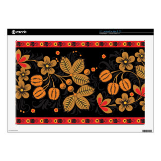 """Autumn Hohloma Decals For 17"""" Laptops"""