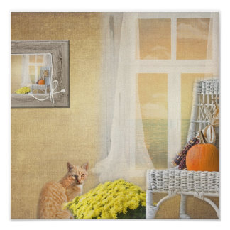 Autumn Home Poster