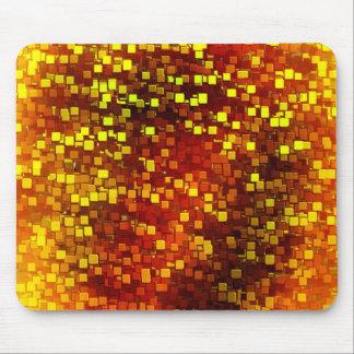 Autumn Honeycomb Camo Mouse Pad