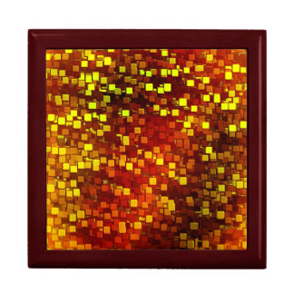 Autumn Honeycomb Digital Camo Jewelry Boxes