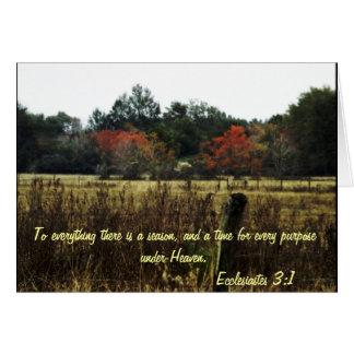 Autumn Hope Card