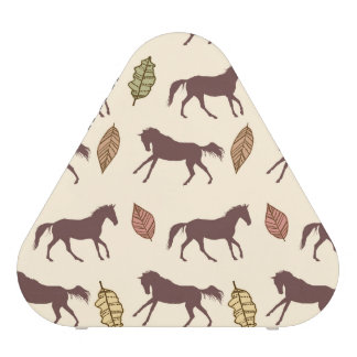 Autumn Horses and Leaves Speaker