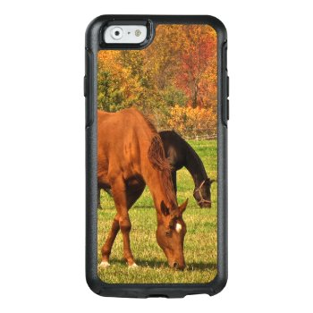 Autumn Horses Otterbox Iphone 6/6s Case by Bebops at Zazzle