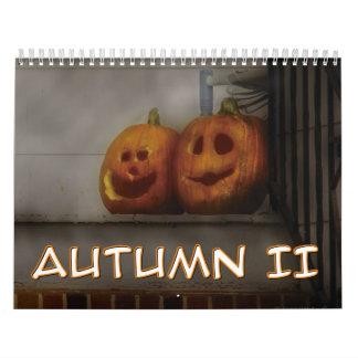 Autumn II Calendar
