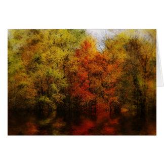 autumn image card