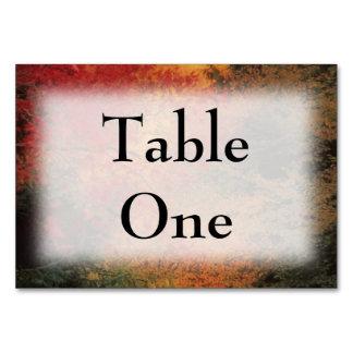 Autumn Impression Table Cards