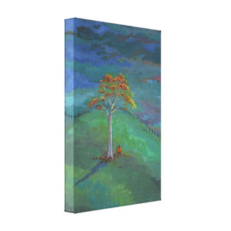 Autumn Impressions Fall Landscape Wrapped Canvas Gallery Wrap Canvas