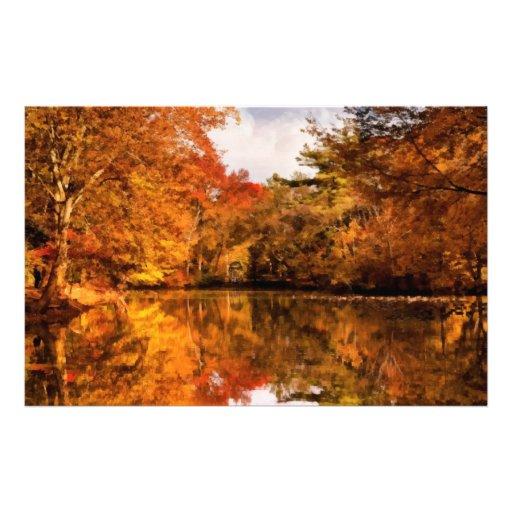 Autumn - In a dream I had Custom Stationery