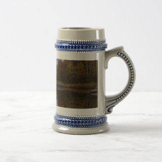 Autumn in Acadia National Park 18 Oz Beer Stein